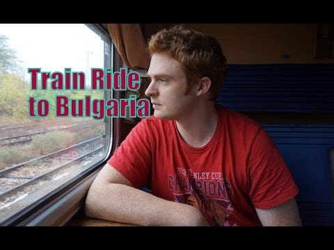 Train ride from Istanbul, Turkey to Sofia, Bulgaria travel video
