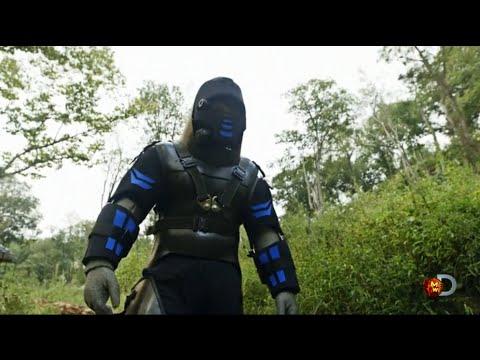 Anaconda Eats Man Alive On TV (видео)