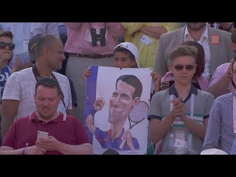 88 - Djokovic vs Nadal - QF Roland Garros 2015  ( French )