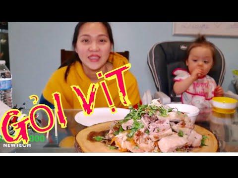 Vlog 557 ll Gỏi Vịt Chấm Mắm Gừng Mua Ở Mỹ Ăn Có Ngon Không?? - Thời lượng: 13 phút.