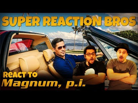 SRB Reacts to First Look at Magnum, P.I.