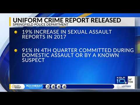 Springfield Police Releases Crime Report for 2017