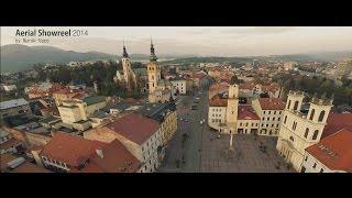 Banska Bystrica Slovakia  city photos gallery : Aerial Showreel 2014 - Banská Bystrica region - Slovakia