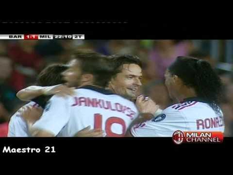 هدف انزاغي ضد برشلونة 25/08/2010