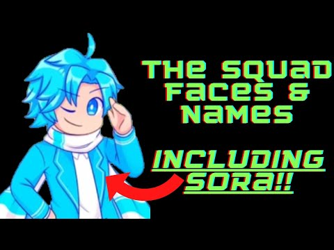 Inquisitormaster The Sqaud Face Reveal (Includes Sora!)