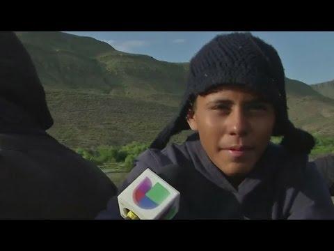 La dramática travesía de un niño hondureño hacia Estados Unidos