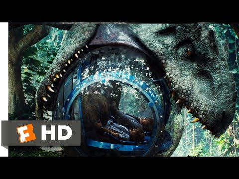 Jurassic World (2015) - Indominus Attacks The Gyrosphere Scene (3/10) | Movieclips