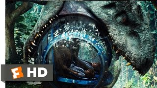 Jurassic World  2015    Indominus Attacks The Gyrosphere Scene  3 10    Movieclips