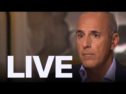 Matt Lauer Breaks Silence After Allegations | ET Canada LIVE