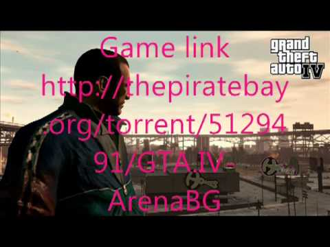 free Gta4 CD key - go to this link: http://win-md.tk/user/1657/marian Windows Vista goes to 100% verified Game: http://thepiratebay.org/torrent/5129491/GTA.IV-ArenaBG Crack: ht...