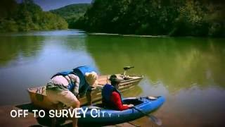 Hydrology Students Perform Sonar Survey in City Lake, Cookeville