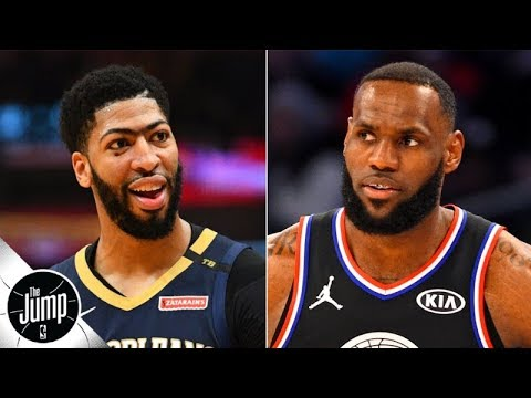 Video: LeBron says he and Anthony Davis will push each other harder than anyone else could | The Jump