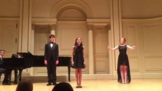 """The I Love You Song"" at Carnegie Hall"