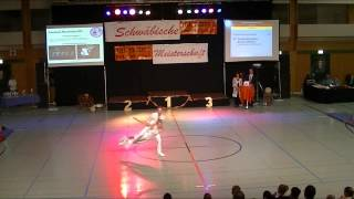 Theresa Brinkmann & Dennis Hoffmann - Schwäbische Meisterschaft 2013
