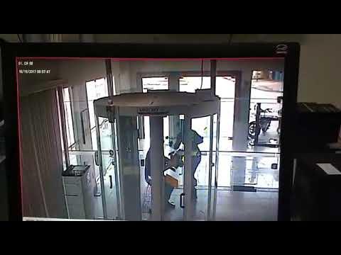 Охрана банка застрелила грабителя в Бразилии