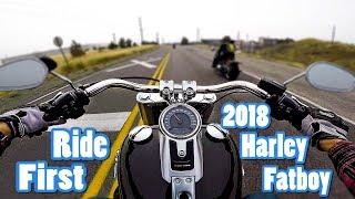 7. 2018 Harley Davidson Fat Boy | First Ride