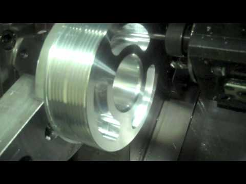 GrimmSpeed Crank Pulley CNC Machining