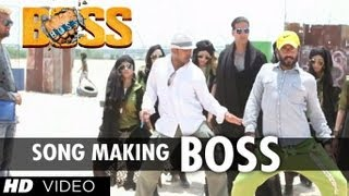 Boss Title Song Making | Akshay Kumar