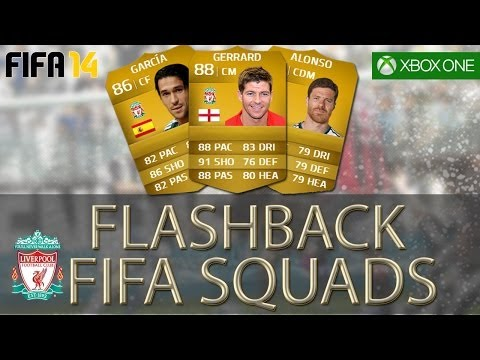 FLASHBACK FIFA SQUADS - Awesome Liverpool 2005 Champions League Team!
