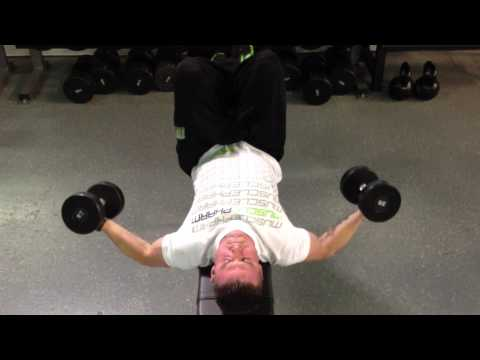 Flat Bench Dumbbell Fly Quarter Rep Method