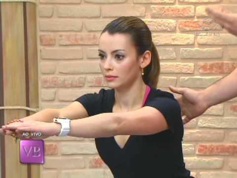 isometricos - Convidado: Ricardo Wesley - Personal Trainer Modelo: Mariana de Melo Craide Mais informações no site: http://www.tvgazeta.com.br/vocebonita.