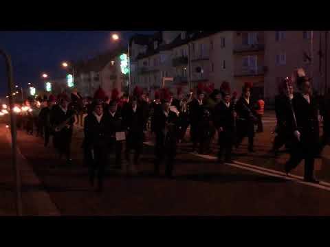 Wideo: Pochód Lisa Majora w Polkowicach
