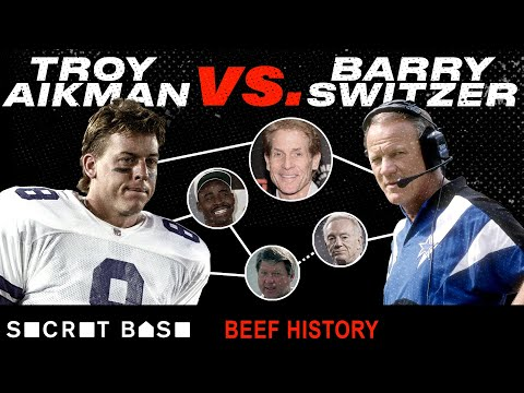 Video: Troy Aikman and Barry Switzer beefed from college to the NFL, with help from Skip Bayless