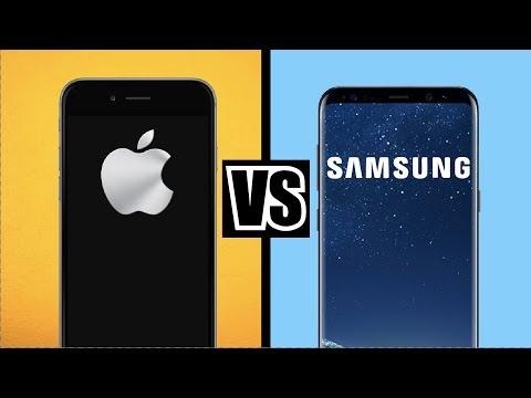 APPLE vs SAMSUNG - Welches Handy ist BESSER?