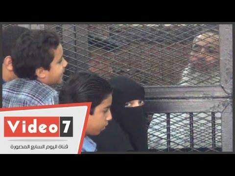 بالفيديو.. حازم أبو إسماعيل يتحدث لزوجته وأولاده من خلف القضبان