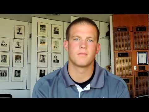 Chris Boswell Interview 9/10/2012 video.
