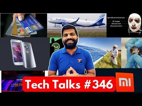 Tech Talks #346 - Moto X4, BharatNet II, iPhone X FaceID, Indigo Laptop Smoke, Rubber Electricity