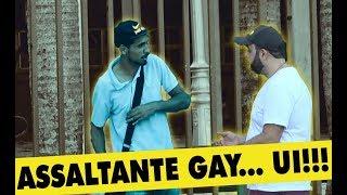 Pegadinhas - PEGADINHA - ASSALTANTE GAY ATACANDO NO RIO DE JANEIRO