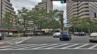 Bethesda (MD) United States  City new picture : Driving Downtown - Bethesda Maryland USA