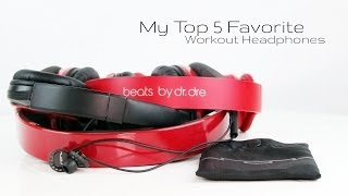 Video My Top 5 FAVORITE Workout Gym Headphones MP3, 3GP, MP4, WEBM, AVI, FLV Juli 2018