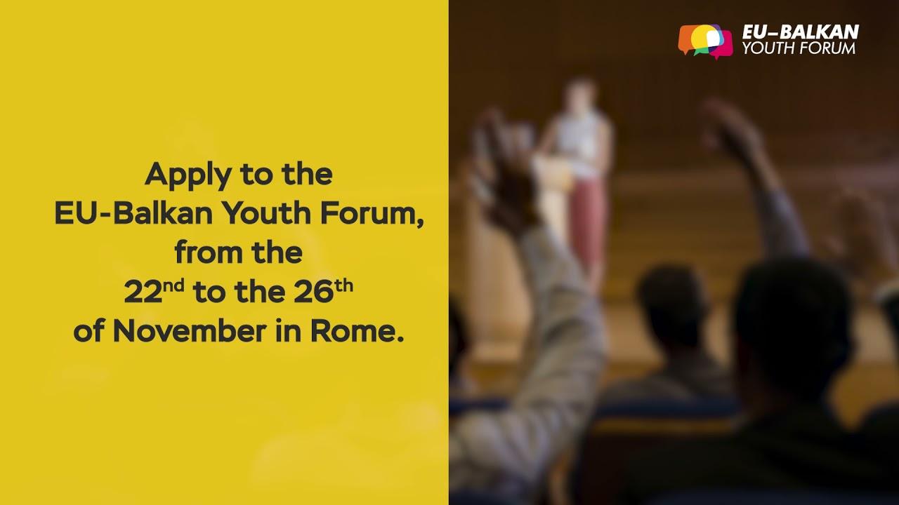 EU-Balkan Youth Forum
