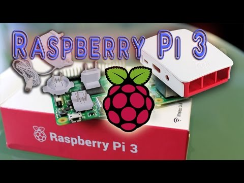 Raspberry Pi 3 Unboxing + Case + Power Supply