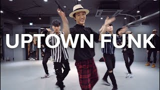 Video Uptown Funk - Bruno Mars / Junsun Yoo Choreography MP3, 3GP, MP4, WEBM, AVI, FLV Juli 2018