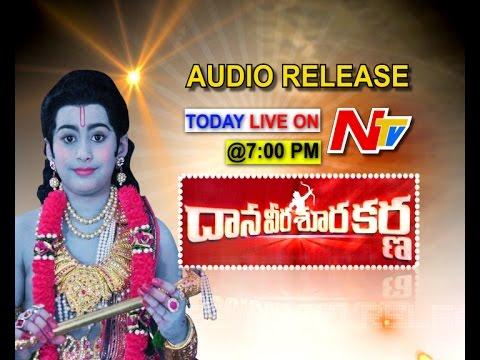 Dana Veera Sura Karna Movie Audio Launch Live & Exclusive   Master NTR