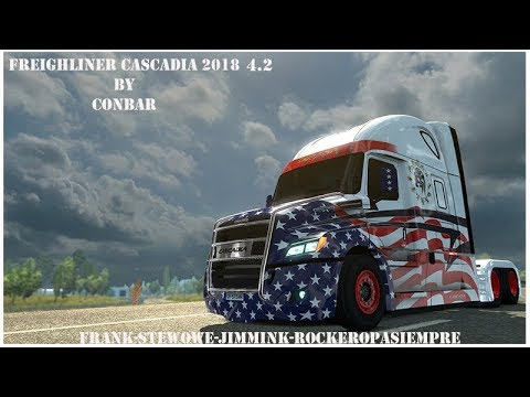 Freighliner Cascadia 2018 by Conbar 1.28