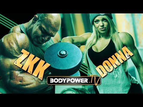 Zack King Khan Destroys Donna Murphy with a Monster Leg Workout!