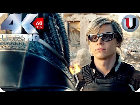 Quicksilver vs Apocalypse - X-Men Apocalypse - MOVIE CLIP (4K HD)