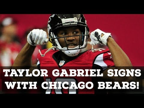 Chicago Bears Sign WR Taylor Gabriel! Reaction & Full Analysis!