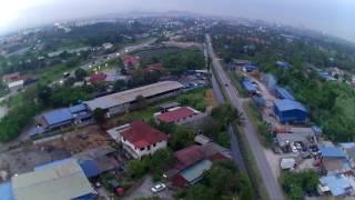 Rantau Panjang Malaysia  city photos : Hubsan 501C Video Test: Kg Rantau Panjang, Selangor, Malaysia