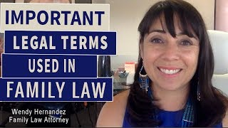 http://commandthecourtroom.com Generally what family law cases are going to look like from start to finish including important legal terms.* Please read the ...