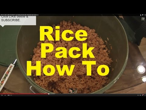 How to make a Rice Packbait for carp fishing tutorial with underwater tank breakdown
