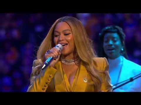 Beyonce Live Performance at Kobe Bryant Memorial Service