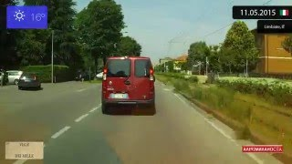 Limbiate Italy  city photo : Driving through Monza e Brianza (Italy) from Limbiate to Muggiò 11.05.2015 Timelapse x4