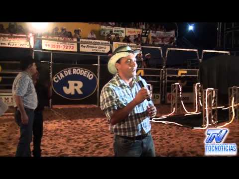 Discurso do Prefeito Clayton Paulo na Abertura do Rodeio em Aguiarnópolis