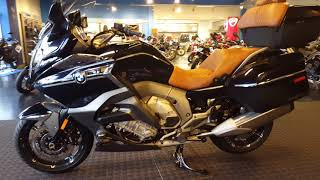 6. 2018 BMW K1600GTL Planet Blue Metallic with Model 719  Walk Around @ Frontline Eurosports