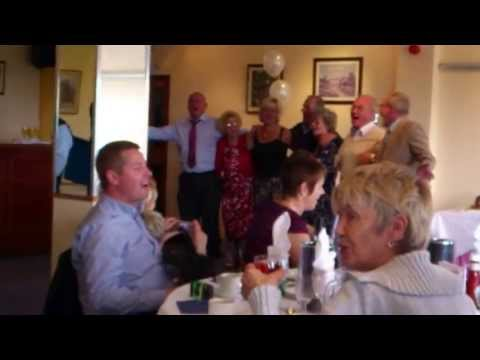 Johnnys Surprise 80th Birthday Party Sing Song